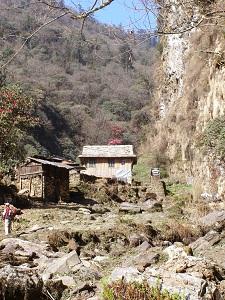 Start of the Gorge, Ghorepani trek