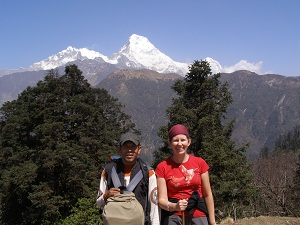 Kumar and Me, Ghorepani