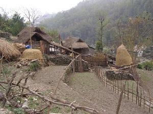 Traditional Village, Ghorepani trek