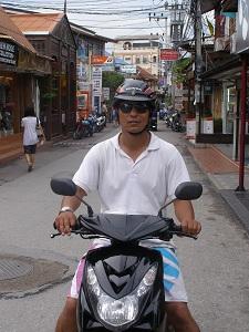 Hua Hin and Our Motorbike