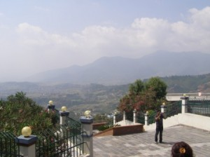 The View from White Gumba of the Kathmandu Valley