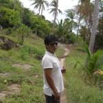 Walking from Sairee Beach to Chalok Baan Kao