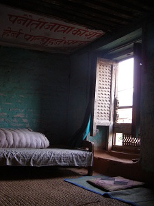 My room for the night at Ananda Cafe Guesthouse