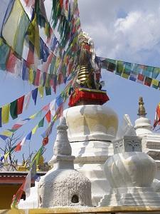Stupa at Namo Buddha