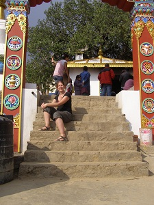 Me at Namo Buddha