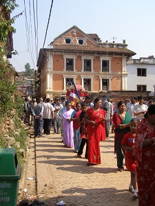 Festivities at Panauti