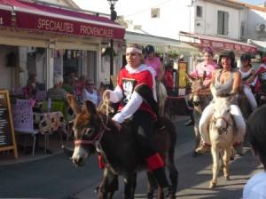 Donkey Racing in Saintes Maries de la Mer