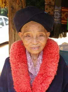 Lady from Yeo Tribe near Chiang Rai