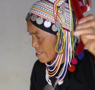 Atta from the Akha Tribe near Chiang Rai