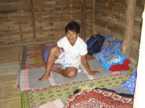 Inside Hut, Apa Village near Chaing Rai