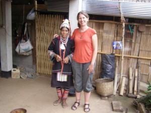Atta and me, the Giant - near Chiang Rai