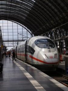 Super Fast Train from Frankfurt to Paris