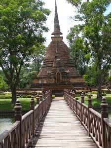 An ancient stupa at Sukhothai
