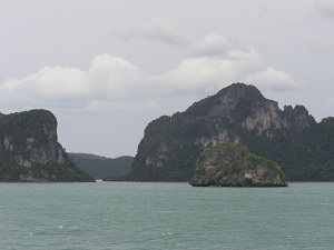 View from the Ferry, Koh Pha Ngan to Don Pak