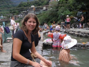 Local Hot Springs at Wulai