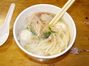 Mixed Balls Noodle Soup