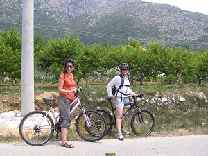 Cycling at Konavle