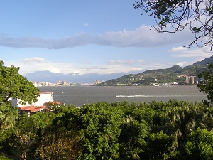 View of Taipei from Fort Santo Domingo