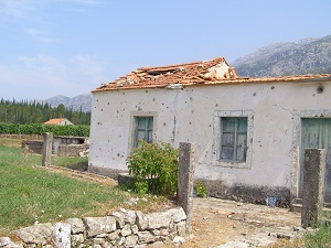 A reminder of the past in Konavle