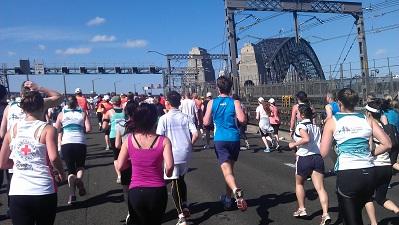 Blackmore Harbour Bridge Run