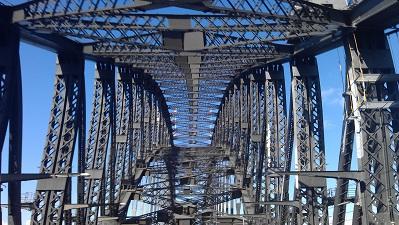 Sydney Harbour Bridge from Below