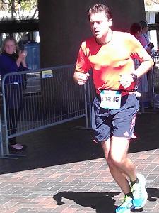Marathon Runner at Blackmore Running Festival