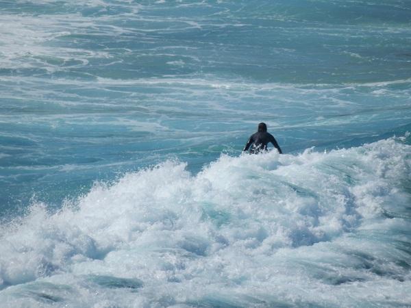 Surfer at Bronte Beach - Bondi to Coogee Beach
