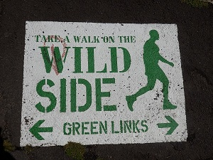 Walk on the Wild Side SIgn