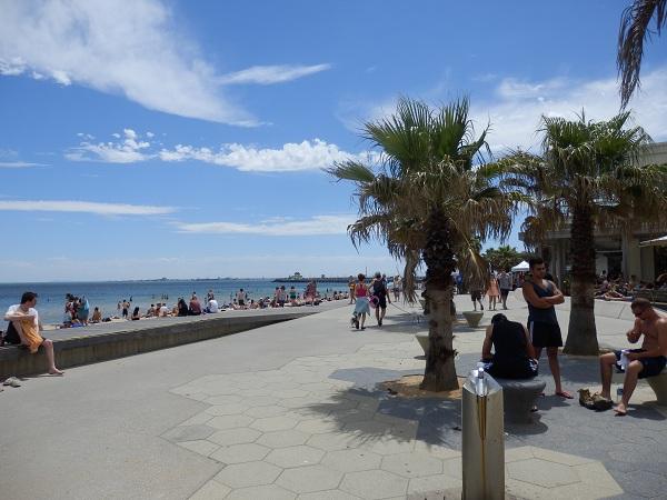 St Kilda Beach Front
