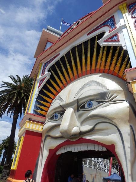 Luna Park Entrance, St Kilda