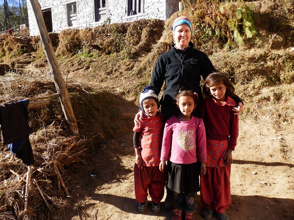 Nepal - Me and Gele's Nieces