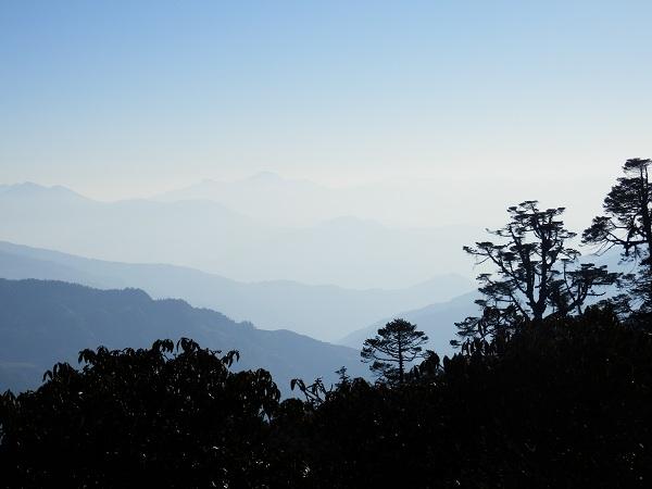 Misty Himalayas