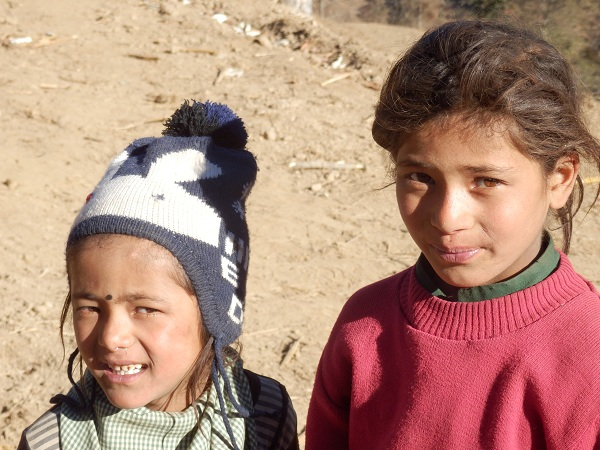 Two nepali children