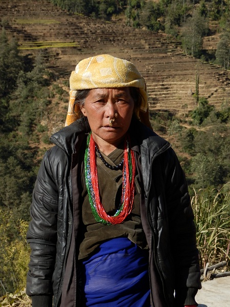 Local Nepalese Lady