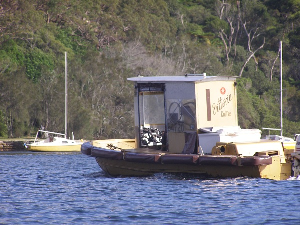 Coffee Boat on Middle Harbour, Sydney