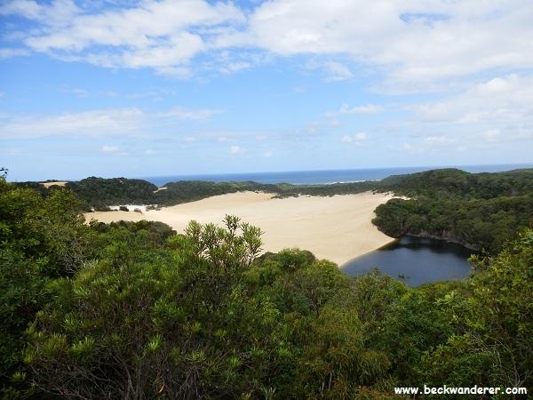 Lake Wabby,Fraser Island