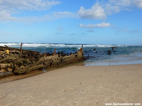 Maheno Shipwreck, Fraser Island