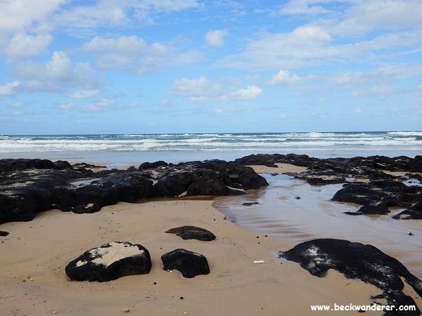 Poyungan Rocks, Fraser Island
