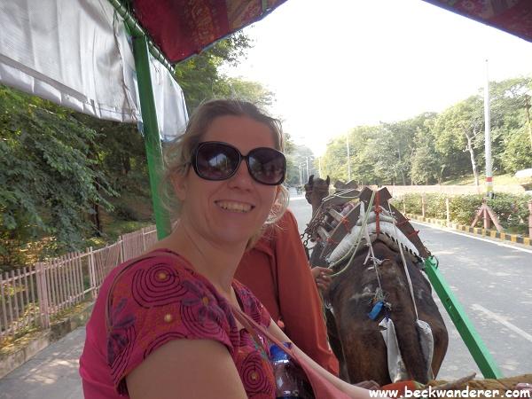 Camel Ride, Taj Mahal