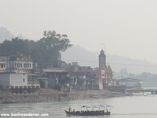 Rishikesh Ferry at Swarg Ashram
