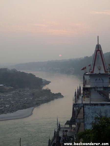 Rishkesh Sunset, Lakshman Jhula