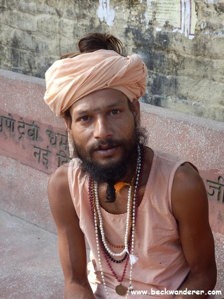 Sadhu at Swarg Ashram