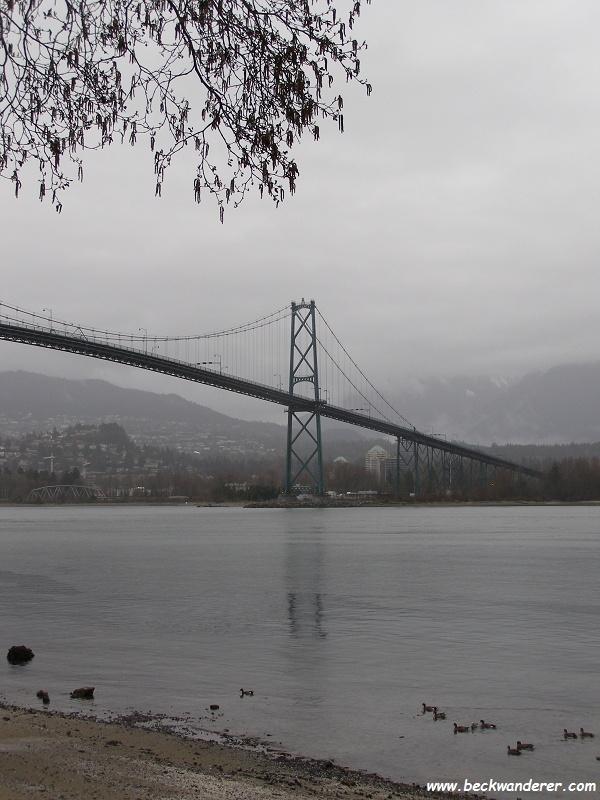 View Lions Gate Bridge