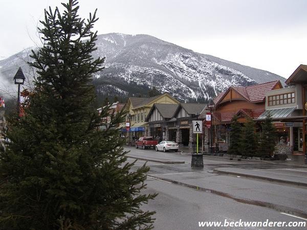 Banff town centre