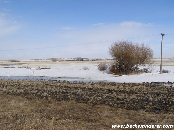 Saskatchewan Prairies in the Winter