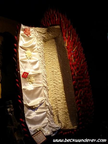 A Ghana Coffin