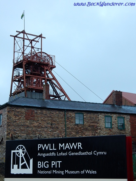 Entrance to Big Pit and Sign