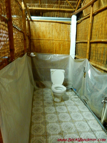 The bathroom in my Mekong Delta homestay