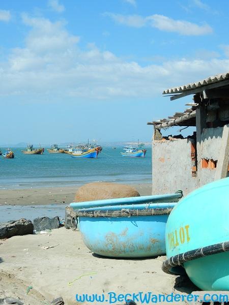 Fishing Village at Mui Ne, Harbour