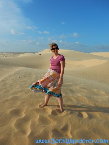 Me at the White Sand Dunes, Mui Ne, Vietnam